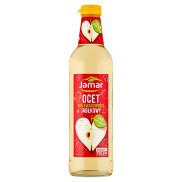 Джамар Яблочный уксус 6% кислотности 500 мл