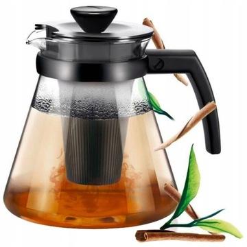 Заварочный аппарат для чая, термостойкий кувшин 1,7 л