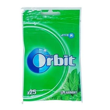 ORBIT RUBBER WRIGLEYS SPEARMINT 25 ШТ. 35Г БЕЗ САХАРА