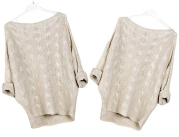 Sweter Odkryte Ramiona Niska Cena Na Allegro Pl