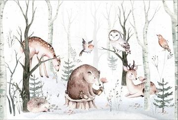 Животные обои, лесные животные, лес 368x248