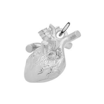Wisiorek Serce Anatomiczne Serce W Wisiorki Allegro Pl