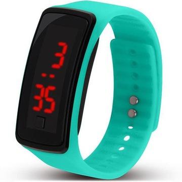 Zegarek Silikonowy Led Sportowy Niska Cena Na Allegro Pl
