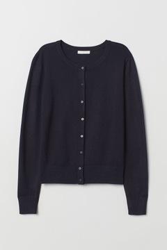 Sweter rozpinany kardigan H&M r.L
