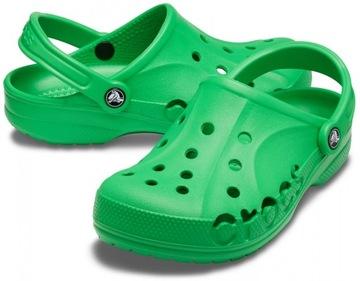 Lekkie Klapki Crocs Baya 10126 Zielony Męskie 43