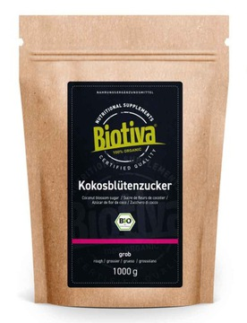 Biotiva Coconut Flower Sugar Bio 1000гр.