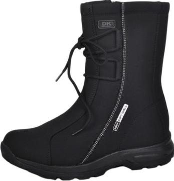 Buty Śniegowce DK Snowbest Blk 1754 r.38