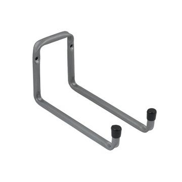 Крюк гаражный складной двойной 200x120мм, сталь