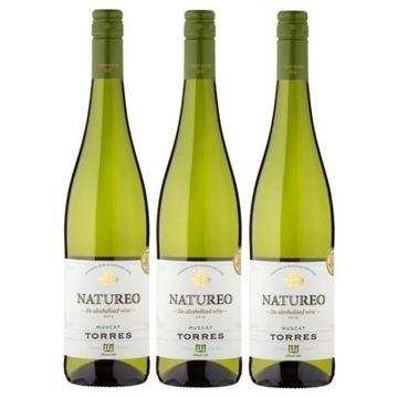 Испанское вино Natureo Muscat Wine 0% набор из 3 вин