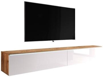Подвесная полка под телевизор в гостиную - WOTAN / BIEL
