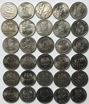 Набор из 15 памятных монет - набор