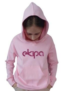 Купить Толстовка EKIPA с глянцевым розовым принтом на Otpravka - цены и фото - доставка из Польши и стран Европы в Украину.