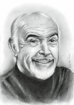 Портрет по фотографии на заказ 1 человек карандаш а4