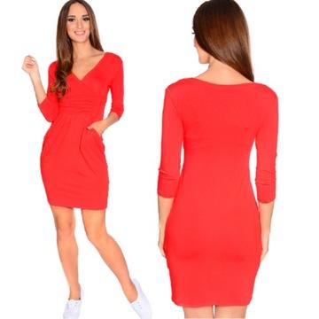 Mala Czerwona Czerwona Sukienka Niska Cena Na Allegro Pl