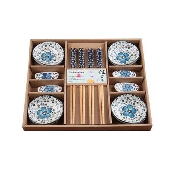 Элегантный синий набор палочек для суши