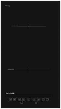 Встраиваемая индукционная варочная панель Sharp KH-3I25NT00-EU