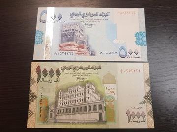 Йемен 500 1000 UNC