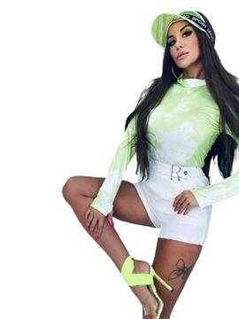 Rasowe body Lola Bianka zieleń