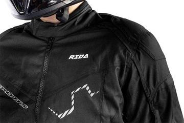Куртка мотоциклетная текстильная meska туристическая, фото 6