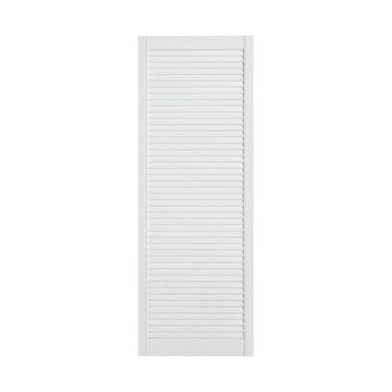Ажурная дверь, 49,4 x 242,2 см, белая, лакированная
