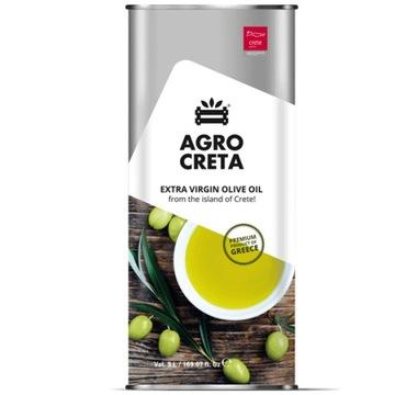 Оливковое масло с Крита Agrocreta в канистре 5л