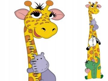 Таблица высоты GIRAFFE Safari для детей