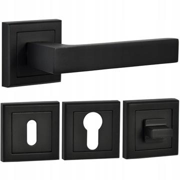 Черная матовая ручка + розетки, вставка для ключей или унитаз HIT!
