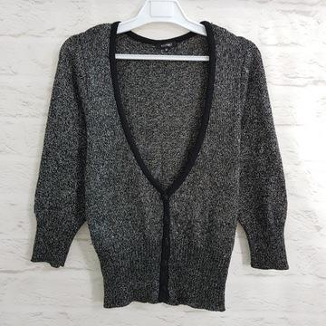 RESERVED_damski rozpinany sweterek_(#_#)_M