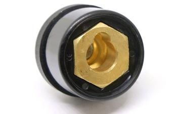 Панельная розетка ŁW-95 для сварочных кабелей
