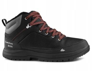 Trzewiki Traperki Zimowe Naszbut 831 Czarne Boots Hiking Boots High Top Sneakers