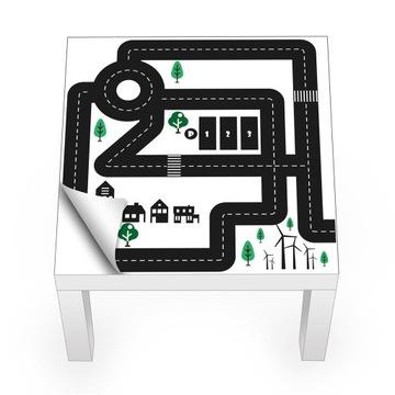 Наклейка на стену IKEA LACK, мебель, стены. Выбор
