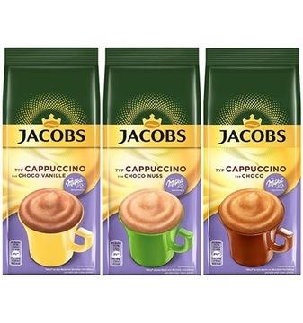 Jacobs Cappuccino Milka Choco Nuss Vanilia 3x500гр.