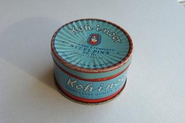 KOH-I-NOOR старая коробка для шпилек + шпильки