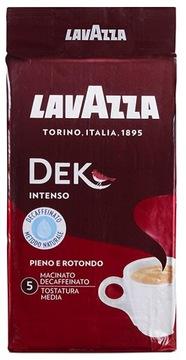 Итальянский кофе DECAFFEINE Lavazza Dek Intenso 250g