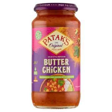 Томатный соус с курицей и маслом Patak's 450 г