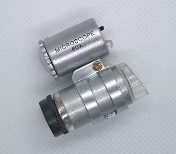 Лупа для микроскопа x 60 Ювелирные изделия и часовщики