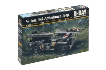 Машина скорой помощи Willys Jeep 1/35 Italeri 0326