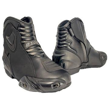 Ботинки мотоциклетные короткие miejskie спортивные motor, фото 2