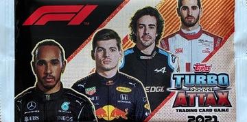 F1 FORMULA 1 TURBO ATTAX 2021 НОВЫЙ КАРМАН