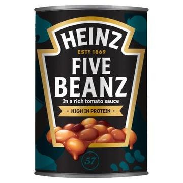 HEINZ Five beanz 415 г в томатном соусе