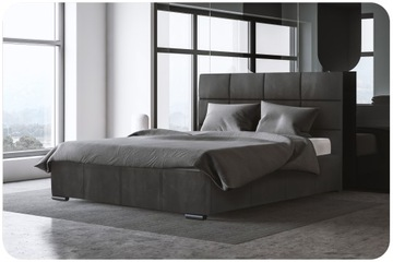 Кровать мягкая PIERO 160X200 с контейнером