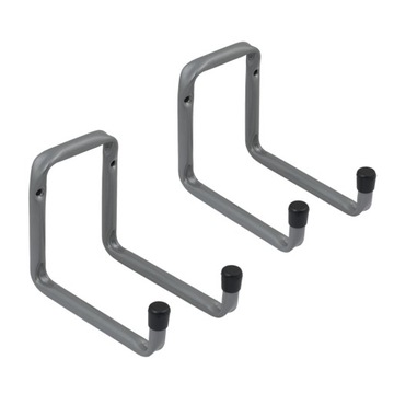 2x Гаражный настенный крюк двойной H2U 160x120