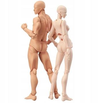 Движущаяся модель человека фигурка манекен