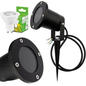 Садовый светильник REFLECTOR 1м + GU10 5W LED кабель