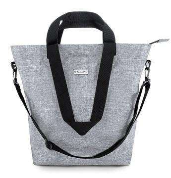 Shopperka torba damska duża Zagatto torebka