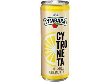 Напиток TYMBARK LEMON лимонный 0,25л банка (пачка