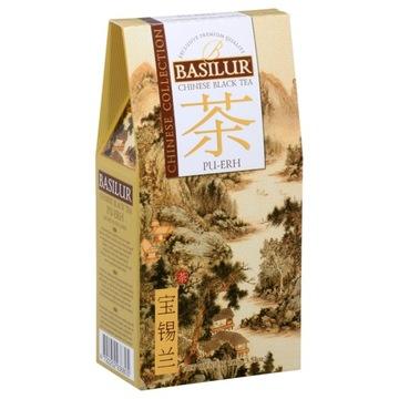 Китайский красный чай, Pu-Erh Basilur лист 100г