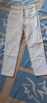 SINSAY _ spodnie Mom Jeans _ jasne _ 34