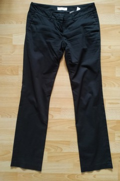 Czarne eleganckie spodnie Reserved