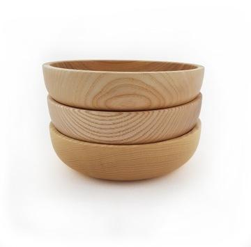 Деревянная чаша из ясеня ⌀18 см, ручная работа